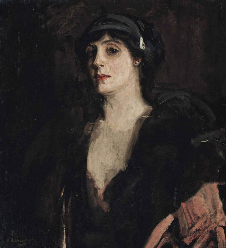 Mrs PC by John Lavery