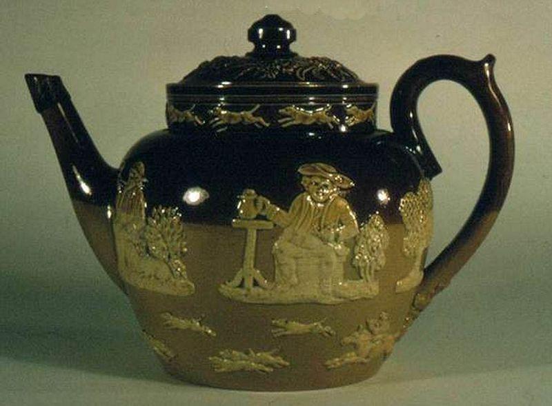 Teapot c1855
