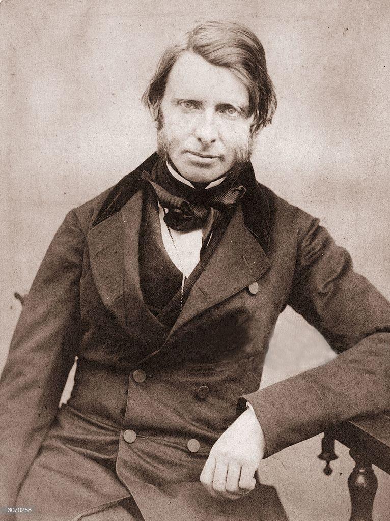 Ruskin portrait photograph c1860